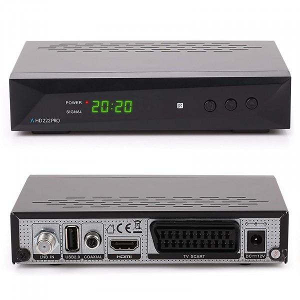Anadol 222 Pro HD FULL 1080p Sat Receiver