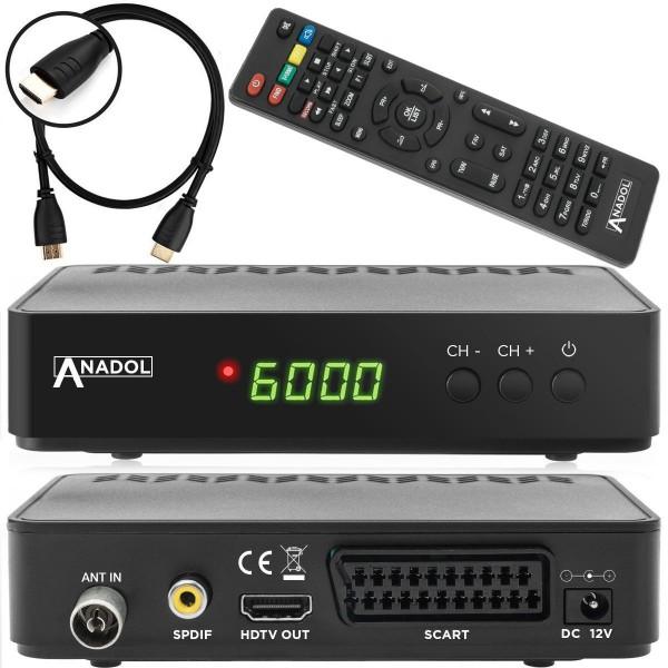 Anadol HD 202C HD 1080p Kabel DVB-C2 Receiver