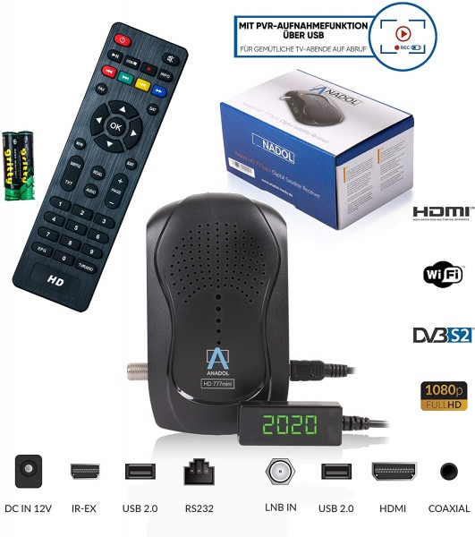 Anadol 777 HD FULL 1080p Sat Receiver